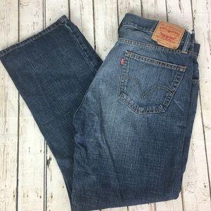 Men's Levi's 505 Straight Leg Jeans Size 36 x 30